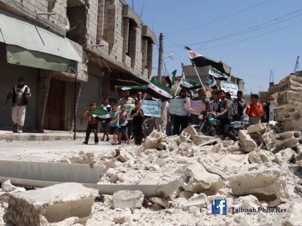 Talbisah en ruines (Juillet 2012)