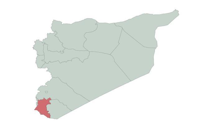 Dera'a (998 000 hab.)