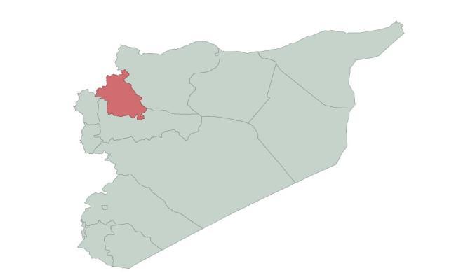 Idlib (1 464 000 hab.)